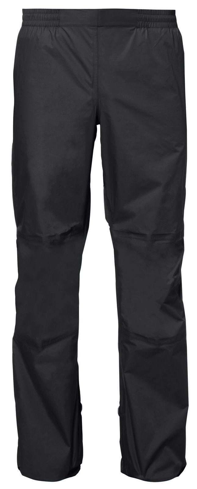 Pantalon imperméable avec membrane imper-respirante HOGGAR 2-F Femme Noir